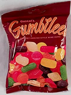 Gustaf's Gumbilees TWO PACK - Gourmet English Style Wine Gums - Gummi Fruit Candies 10.4 oz Total