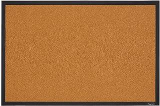 Quartet Cork Board Bulletin Board, 2` x 3` Framed Corkboard, Black Frame, Decorative Hanging Pin Board, Perfect for Home Office Decor, Home School Message Board or Vision Board (MWDB2436-BK)