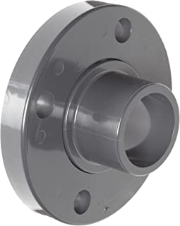 Spears 856 Series PVC Pipe Fitting, Van Stone Flange, Class 150, Schedule 80, 1