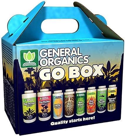 General Hydroponics GH5100 General Organics Go Box GH,Black