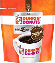 Dunkin' Donuts Ground Coffee, Original Blend Medium Roast, 90 Ounce
