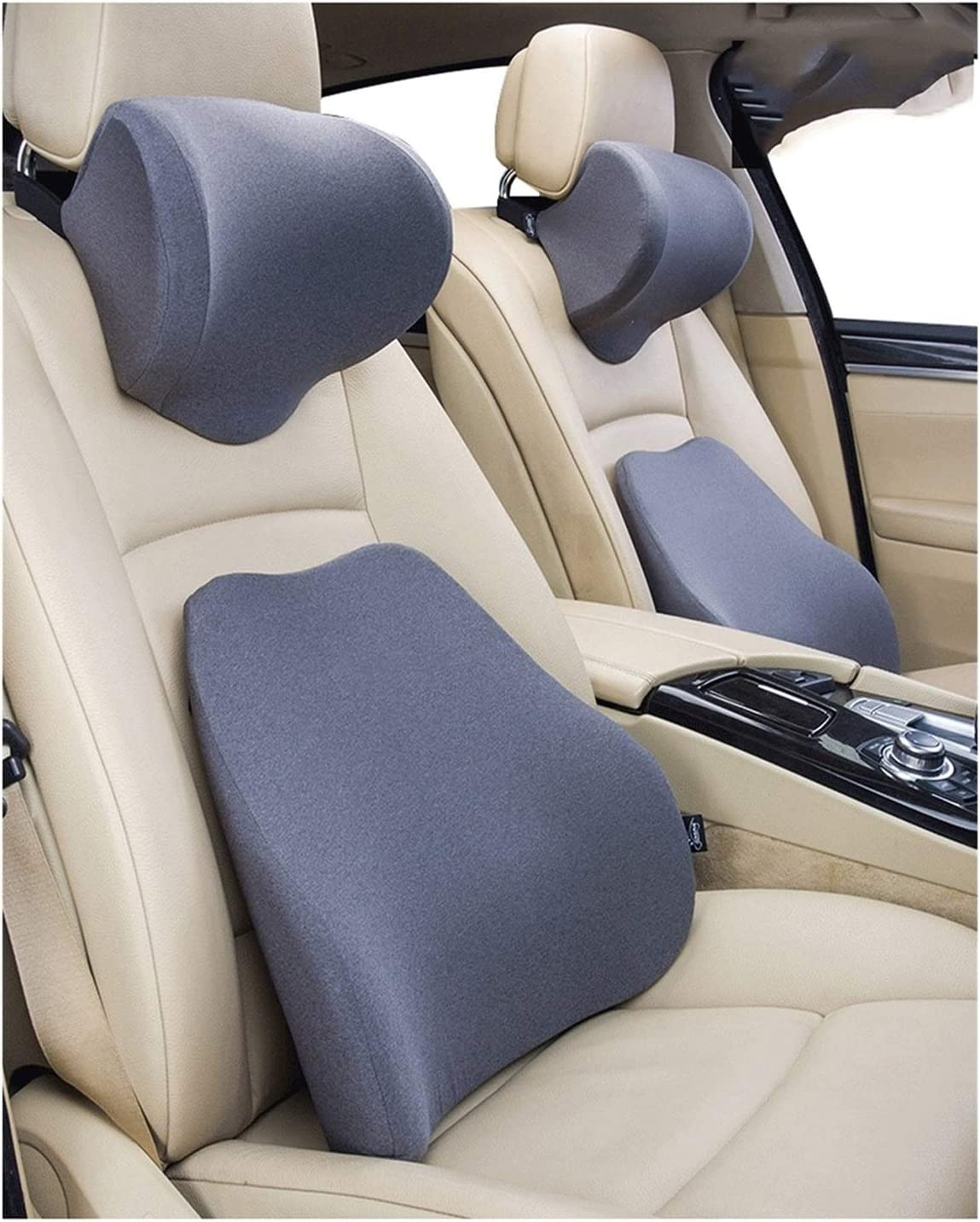QSWL Car Neck Pillow - Lumbar Now on sale Auto Support Seat Reservation Headrest