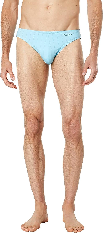 2(X)IST Mens Pin Stripe Hip Bikini Brief
