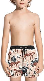 Ouxioaz Boys Swim Trunk Winter Forest Beach Board Shorts