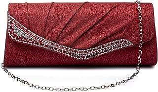Fashion Clutch Bag Evening Bag Sparkle Paillette Purse for Party Wedding Cocktail