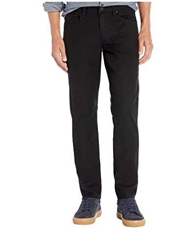 Hudson Jeans Blake Slim Straight Twill Jean (Black) Men
