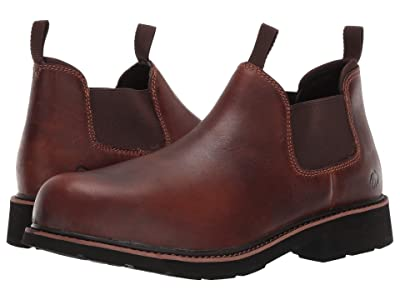 Wolverine Ranchero Steel Toe Romeo (Brown) Men
