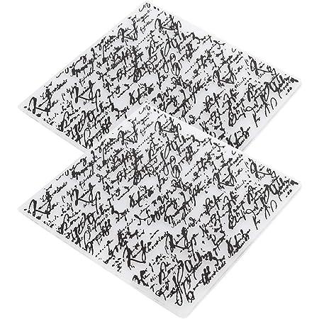 Dossiers de gaufrage 2 pièces, modèle de Scrapbooking concave-convexe pour la fabrication de cartes carte de décoration d'album photo, 15x15 cm(#3)