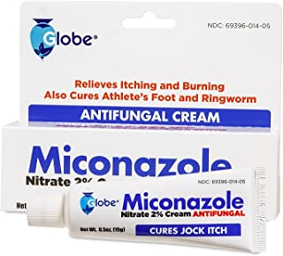 Miconazole Nitrate 2 % Antifungal Cream - 1 Oz (2 x 0.5 oz)