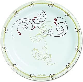 Dart HP9SJ8001PK Symphony Paper Dinnerware, Heavyweight Plate, 9