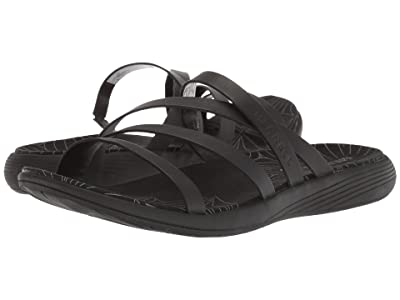 Merrell Duskair Seaway Slide Leather (Black) Women