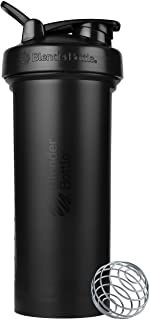 BlenderBottle Classic V2 Shaker Bottle, 45-Ounce, Black