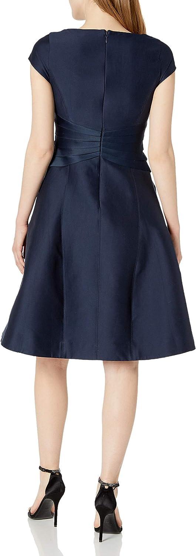 HALSTON Women's Satin Insert Dress