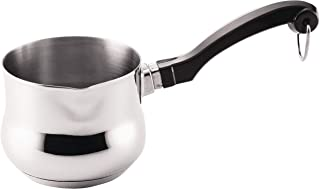 Farberware 70369 Classic Series Stainless Steel Butter Warmer/Small Saucepan Dishwasher Safe, 0.625 Quart, Silver