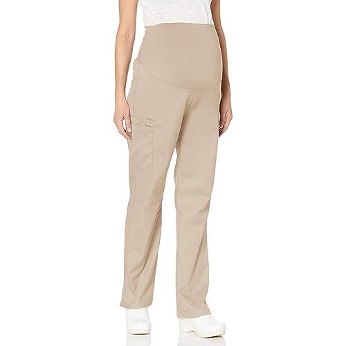 New Womens Beige Maternity Chino NEXT Trousers Size 8 Regular