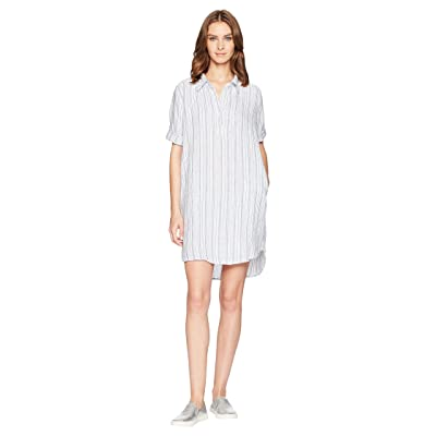 Allen Allen Boxy Pullover Dress (White) Women