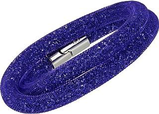 Swarovski Stardust Purple Double Bracelet 5102548