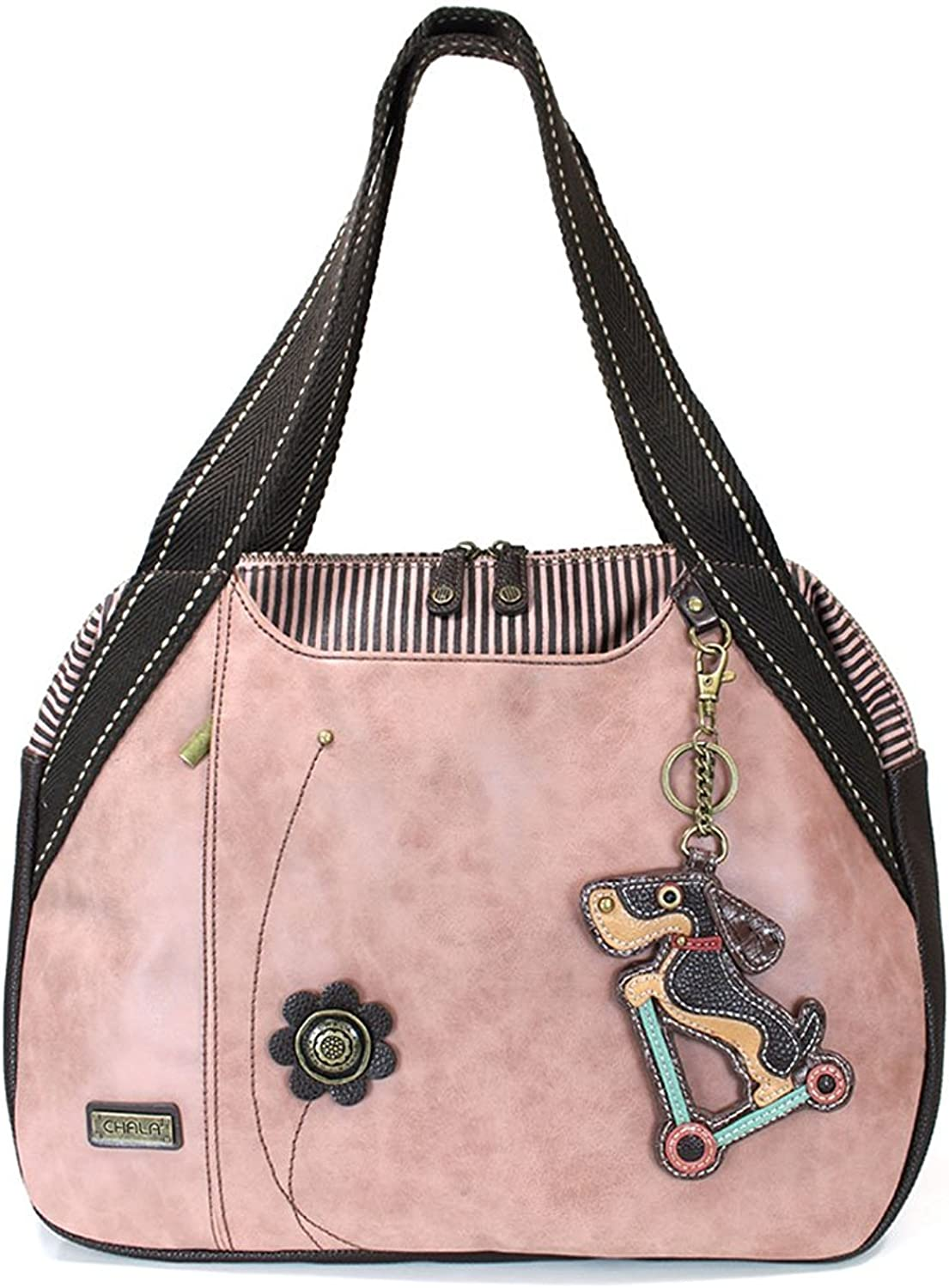 Chala Elephant Bowling Bag, Dusty pink