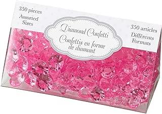 Lillian Rose Diamond Confetti, Hot Pink