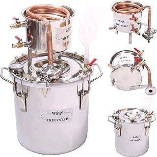 10L Kit de destilación de para el hogar destilador de cobre
