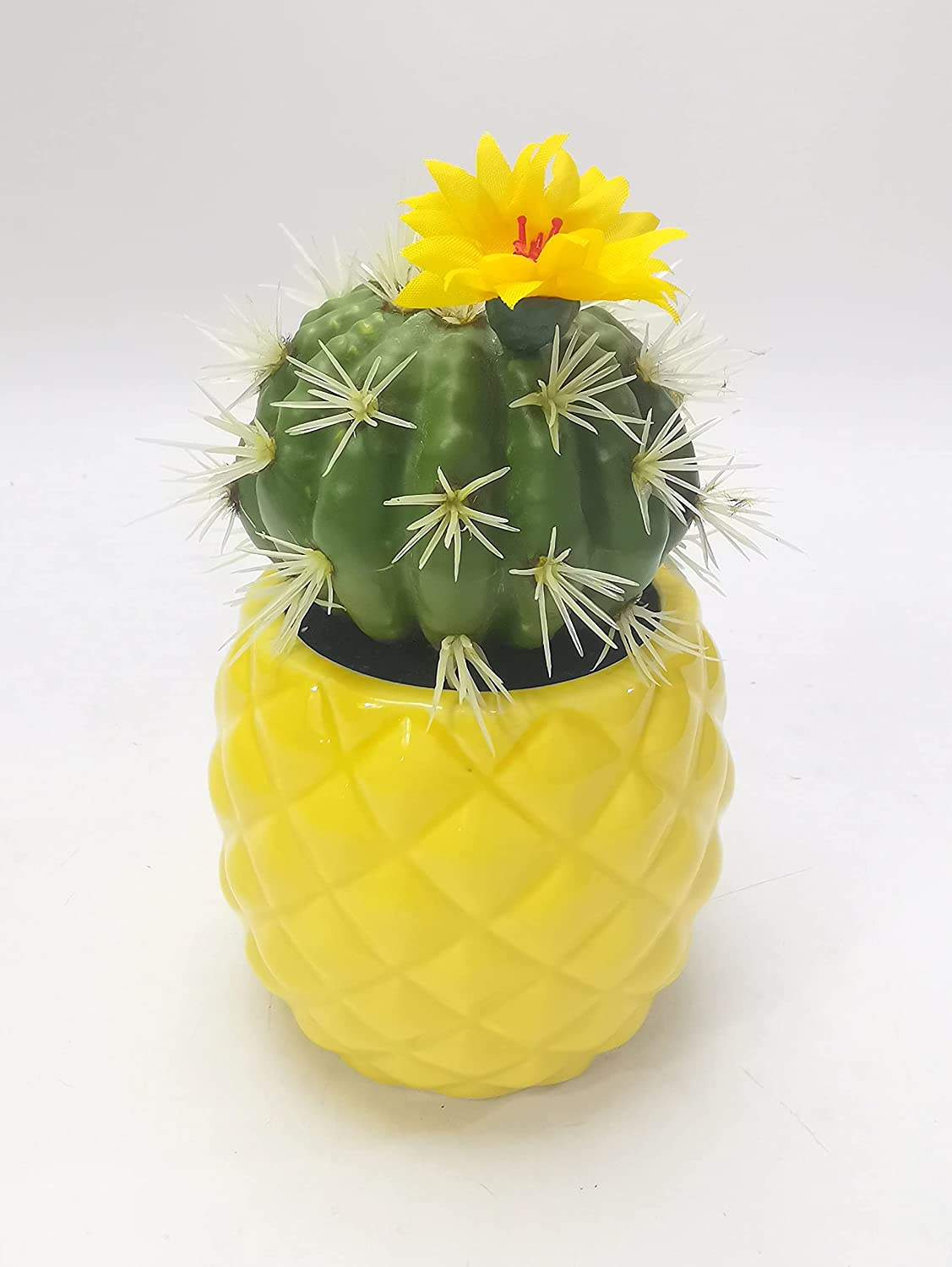 Pretty Home Artificial High order Succulent Kansas City Mall Pineapple Faux wit Ananas Plant
