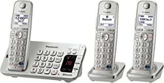 Panasonic KX-TGE273S Link2Cell Bluetooth Enabled Phone with Answering Machine & 3 Cordless Handsets