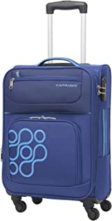 Kamiliant by American Tourister Koti Softside Spinner Luggage 66cm with 3 digit Number Lock - Blue