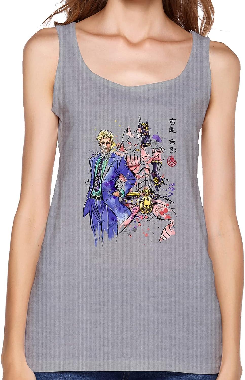 JoJo's Bizarre Adventure Women's Sleeveless Sling Summer Fashion Vest T-Shirt