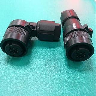 كابلات ووصلات الكمبيوتر - A63L-0001-0880 موصل أو مقبس 4-pin لـ Fanuc Motor JAE قابس الفرامل (S مستقيم قابس A06B-6114-K210)