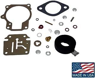 EMP Carb Repair Kit for Johnson Evinrude Carburetor 18 20 25 28 30 40 45 48 50 60 70 75 hp Replaces 18-7222 392061, 396701, 398729 Read Item Description for Applications