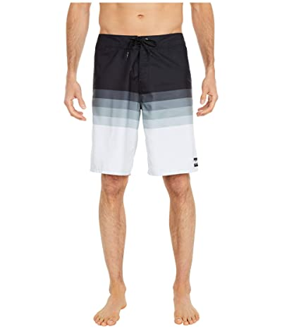 Billabong Platinum Stripe Boardshorts (Grey) Men