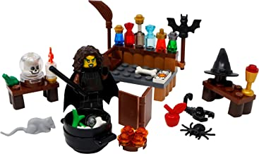 LEGO Halloween Witch, Cauldron, Broom, Spell Book, Hat, and More Toy - Custom Spooky Monster Minifigure