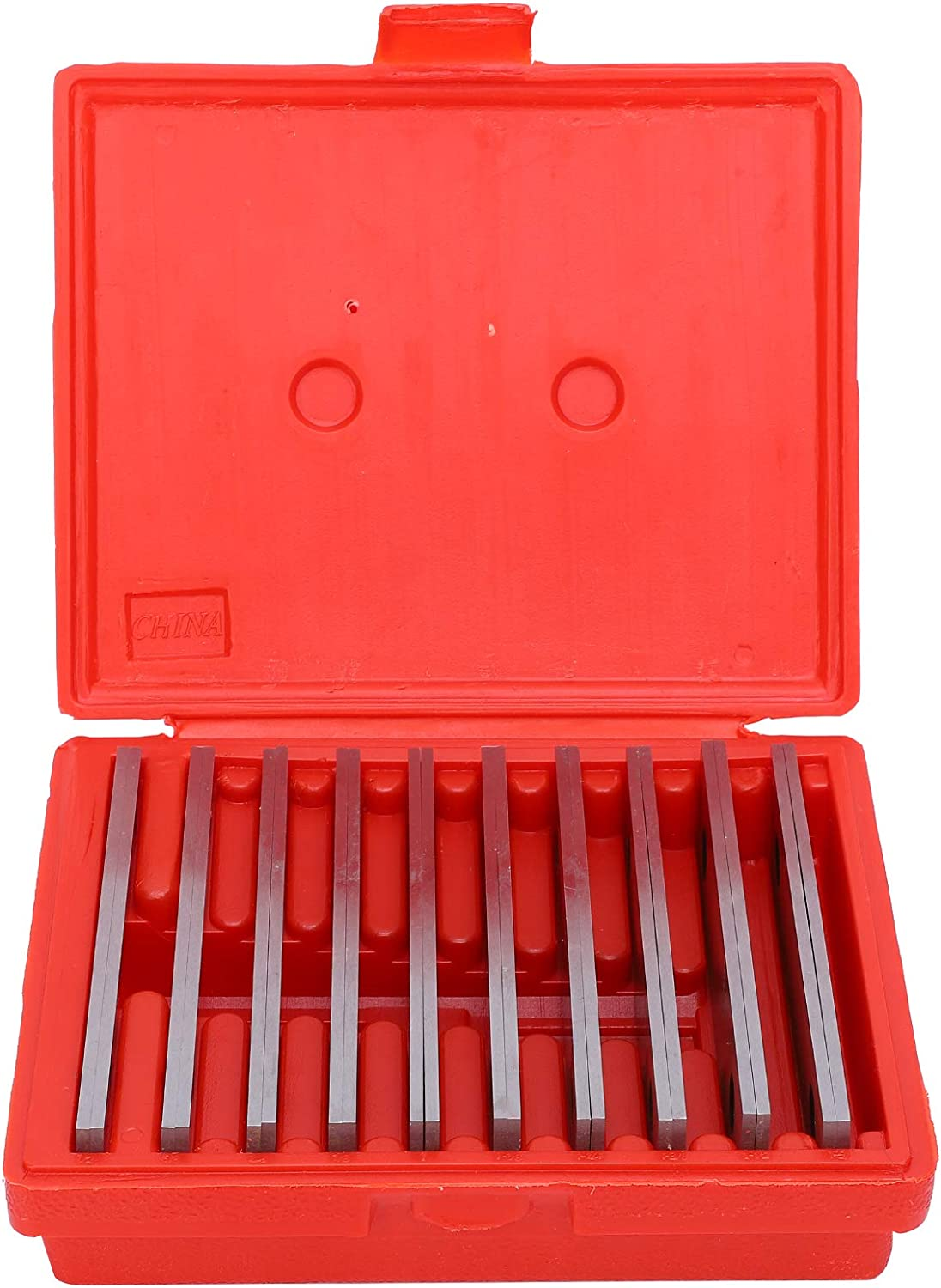 Walfront 10 Pairs 1 8 New sales Inch Parallel Thin Bar Machinist Price reduction Lathe Set