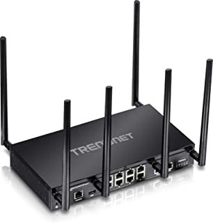 TRENDnet AC3000 Tri-Band Wireless Gigabit Dual-WAN VPN SMB Router, MU-MIMO, Wave 2,Internet Router, Whole Office-Home Wifi...