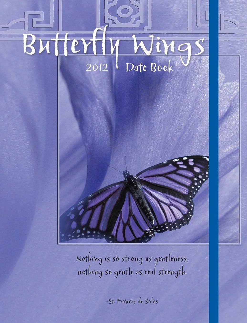 同僚手順建築Butterfly Wings 2012 Calendar