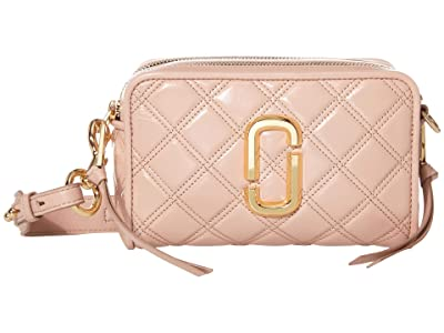 Marc Jacobs The Softshot 21 Crossbody (Nude) Handbags