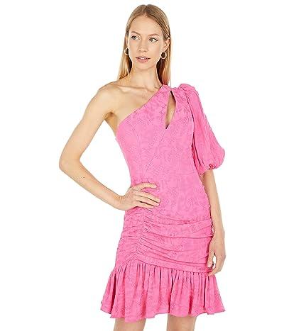 BCBGMAXAZRIA One Shoulder Cocktail Dress