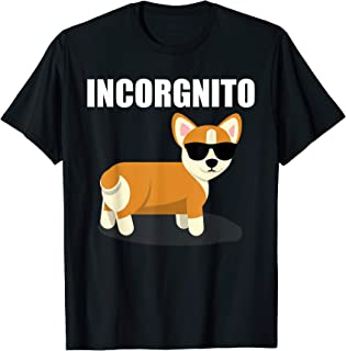 corgi face t shirt