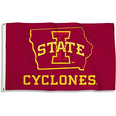 One Size Stock NCAA Legacy Iowa State Cyclones Large Tin Sign 12x12