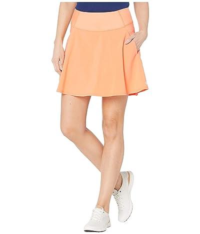 PUMA Golf PWRSHAPE Solid Woven Skirt (Cantaloupe) Women