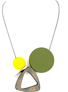 Best green and yellow necklace Reviews