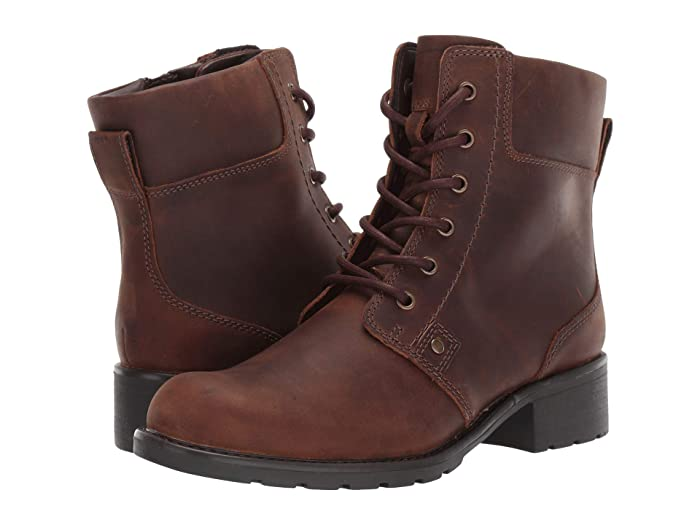 Clarks  Orinoco Spice (Brown Snuff) Womens  Boots