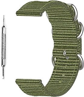 Bracelet de rechange en toile pour montre connectée Suunto 7