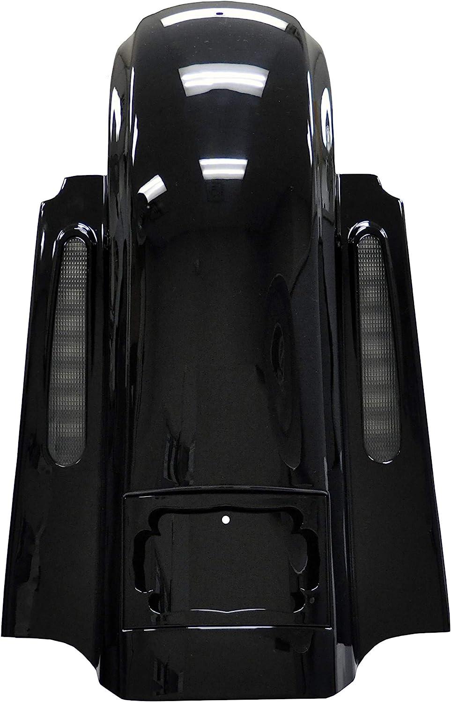 Japan Maker New Bagger Brothers BB-HD1584-140-1 Black Fende Harley-Davidson Fees free!! Rear