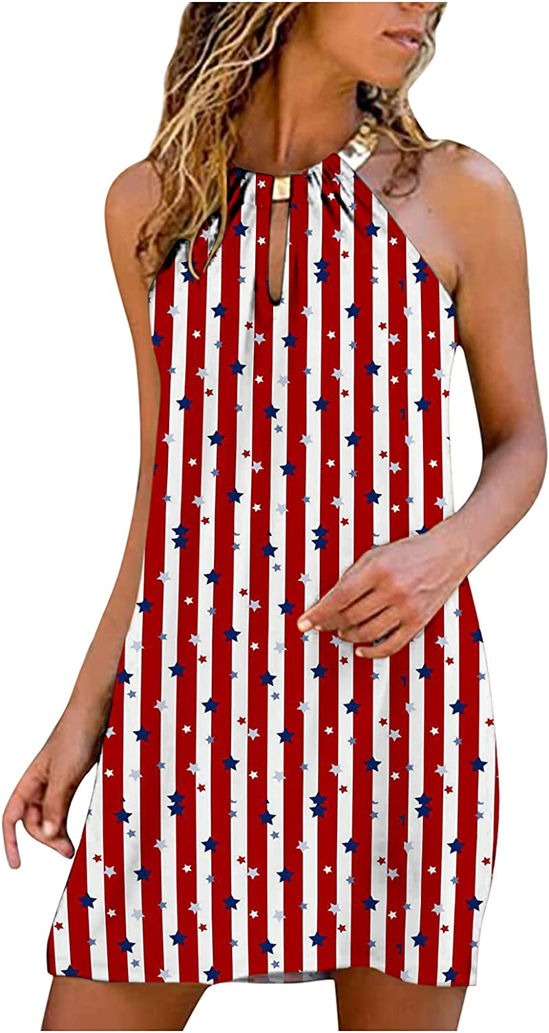 WYTong Women's Summer Dresses Sleev Sexy Philadelphia Mall Non-positioning Printed Sale Special Price