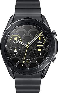 Samsung Electronics Galaxy Watch 3 Titanium (45mm, GPS, Bluetooth) Smart Watch with Advanced Health Monitoring, Fitness Tr...