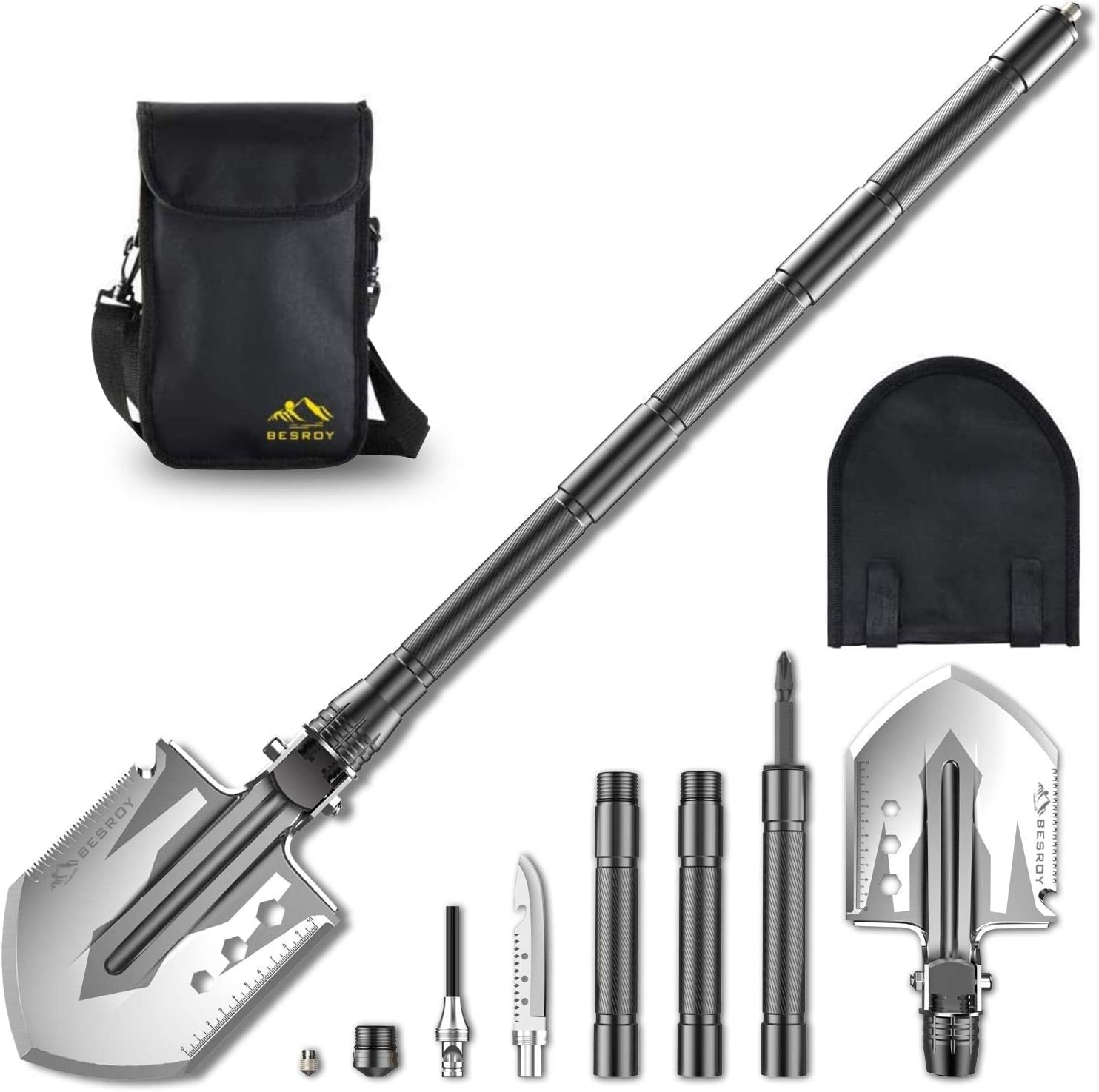 Camping Shovel Portable Military Folding with Tactical Wa It is very popular OFFicial store