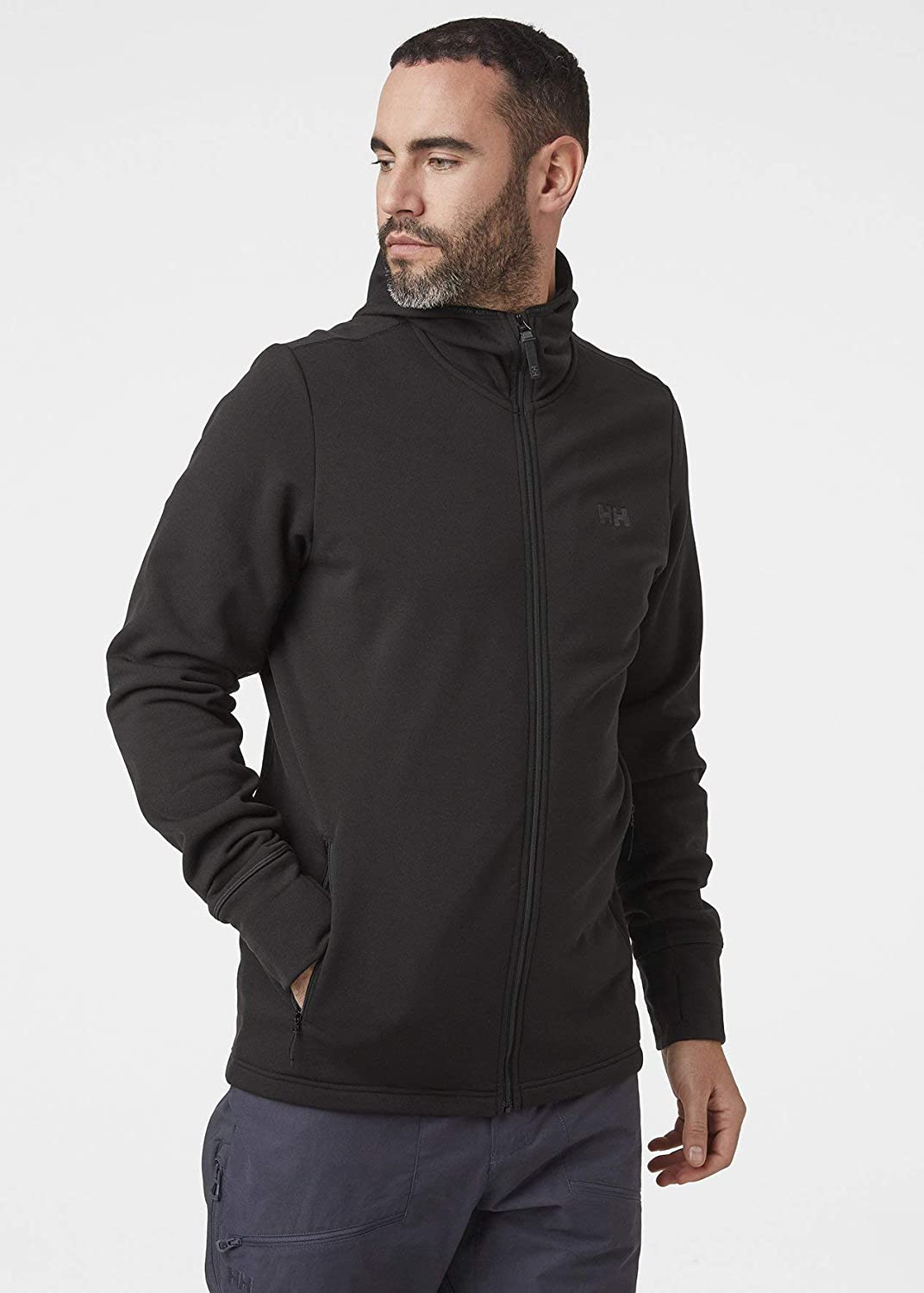 Helly-Hansen Mens Power 4-Way Stretch Pro Glacier Breathable Hooded Jacket