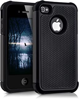 9b804513ced kwmobile Funda compatible con Apple iPhone 4 / 4S - Carcasa protectora de  [TPU]