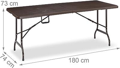 KitGarden - Mesa Plegable Multifuncional Imitación Madera ...